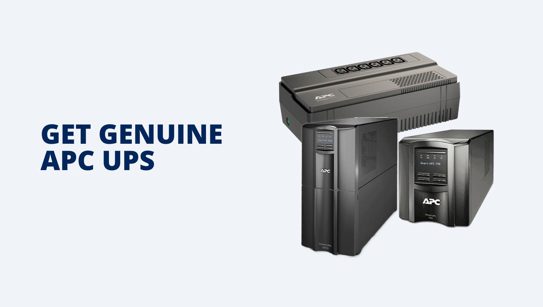 GET GENUINE APC UPS - Tiacotech